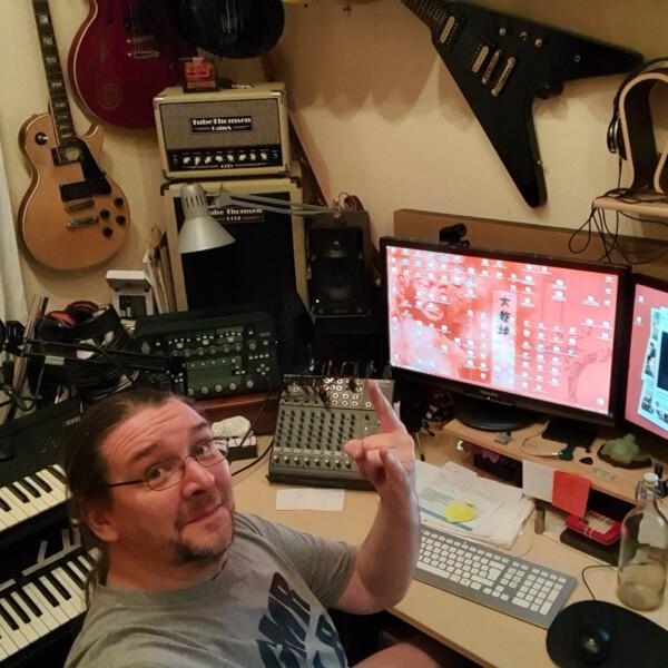 Studio view...